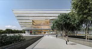 schmidt hammer lassen design new shanghai library archdaily