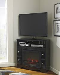 shay w271 corner tv fireplace console