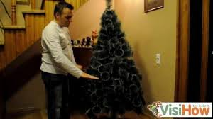 take and store an artificial tree visihow