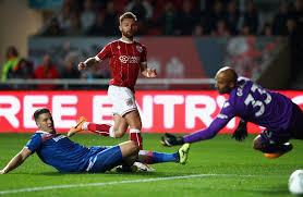 House Of Tiny Tearaways by Bristol City 2 Stoke City 0 Potters Crash Out Of League Cup With
