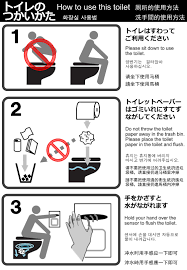 bad bid kyoto turns to toilet etiquette signs in a bid to flush out bad