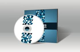 cd cover mockup template download free