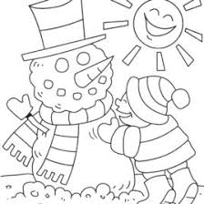winter coloring pages for kids preschool cooloring com free