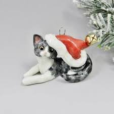 tortie cat ornament or figurine http www themagicsleigh