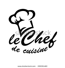 le chef en cuisine le chef de cuisine chefs hat stock vector 289381460