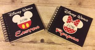 6x6 inch personalized disney autograph book disney world