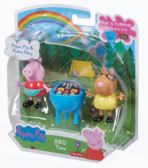 amazon com fisher price peppa pig bbq time toys u0026 games