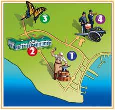 map of mackinac island unit 2 field trip