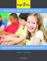 practice test for the olsat level e fourth and fifth grade