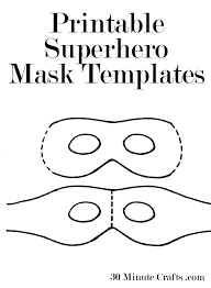 eye mask template printable mask templates 30 minute crafts