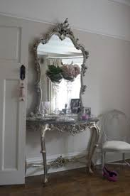 Silver Console Table Console Tables Mirrored Foter