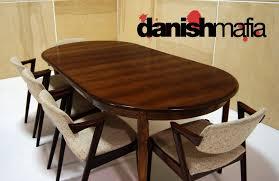 Rosewood Dining Room by Mid Century Danish Modern Gunni Omann Omann Jun Rosewood Dining