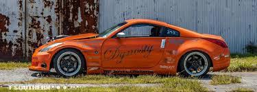 orange nissan 350z street car of the week johnathan u0027s drift drag and street 350z