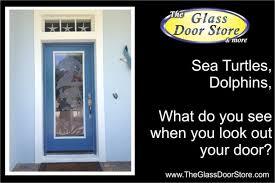 glass door tampa etched glass doors with aquatic designs the glass door store