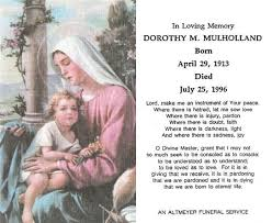 prayer cards for funerals scanning funeral cards catholic funeral memorial cards isure search
