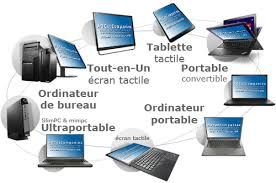 ordinateur de bureau ou portable ordinateur de bureau pc portable et tablette tactile config sur