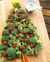 tree vegetable platter with dip feelgoodfoodie