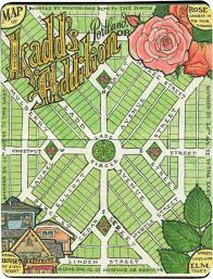 Map Portland Or by Residential Roses U2013 Drawn The Road Again