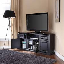 crosley furniture corner tv stand for tvs up to walmart com