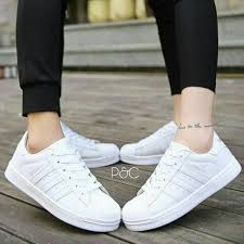 Sepatu Adidas Kets sepatu adidas putih wanita kets casual sport sneakers murah