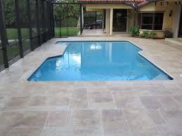miami fl representing the stamped concrete for pool decks
