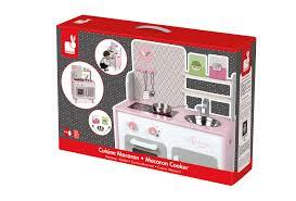 cuisine picnik duo amazon com janod macaron maxi cooker playset toys