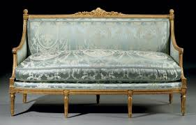 canape louis xvi a louis xvi gilt walnut canape by georges jacob circa 1775 18th