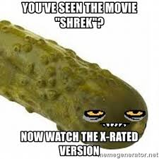 Xrated Memes - you ve seen the movie shrek now watch the x rated version