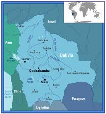 bolivia on world map frontline world bolivia leasing the map of bolivia pbs