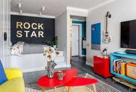 Visites Privées 13 Appartements Français Osent La Couleur Visite Privée De La Couleur Dans Un Appartement Rock De 34 M