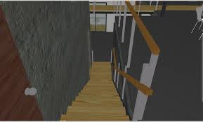 Looking Down Stairs by Designing The Bridges Railings And Stairs Showcase For A Green
