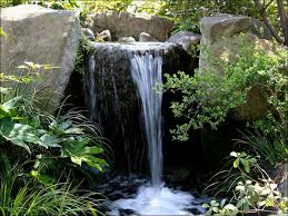 bathroom ideas cool tall yard rock waterfall ideas fresh