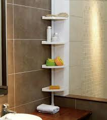bathroom corner shower caddy for exciting bathroom storage design white corner shower caddy with dark tile wall