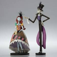 the nightmare before christmas home decor jack skellington u0026 sally figurine the nightmare before christmas