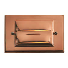 Outdoor Recessed Led Lighting Fixtures by Hinkley Lighting Copper Recessed Led Outdoor Deck Light 1546co Led