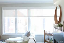 Window Treatments In The Family Room DIY Playbook - Family room window treatments