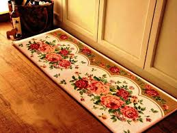 Decorative Kitchen Rugs Decorative Kitchen Floor Mats Floral Emilie Carpet Rugsemilie
