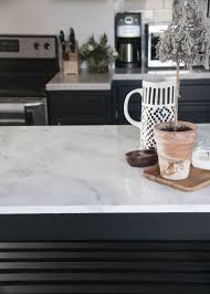 create the look of carrara with these 30 faux marble countertops