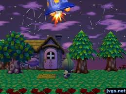 shooting the ufo animal crossing city folk