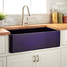 Blue Kitchen Sink 30 Reinhard Fireclay Farmhouse Sink Sapphire Blue Kitchen