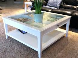 glass top display coffee table attractive entertaining glass top display coffee table with drawers