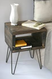 the 25 best pallet side table ideas on pinterest diy living
