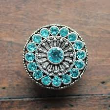 crystal drawer knobs furniture knobs with aqua glass crystals in