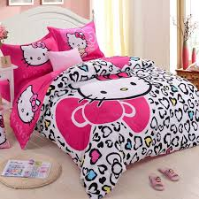 Bedroom Lovely Hello Kitty Bedroom With Cute Pink fort Bed