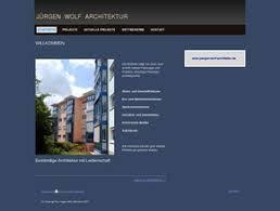 architektur homepage wolf architektur