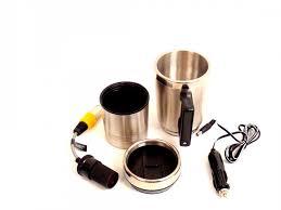 broadened horizons direct heated coffee mug car adapter or