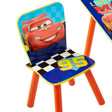 worlds apart disney pixar cars table and 2 chairs kids salsa and gigi