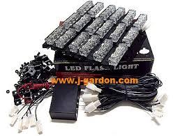 led strobe light kit shipping factory direct 6x 9 led emergency truck strobe light green