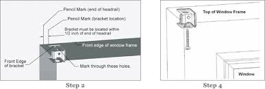 How To Install Hold Down Brackets For Blinds How To Install A Cordless Roman Shade Pottery Barn Kids