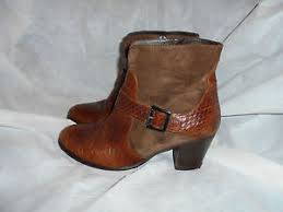 s zip ankle boots uk hotic s brown skin suede leather zip ankle boots size uk 6